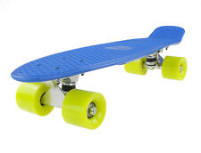 Retro Penny Board Vivo Blue / Yellow Pennyboard Skateboarding