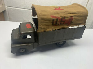 vintage army truck structo toys