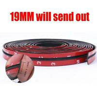 30ft 19mm Car Rubber Seal Weatherstrip B Pillar Strip Trim Accessories T Shape
