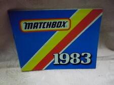 Matchbox Katalog 1983