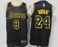 Kobe Bryant Black Mamba Lakers Jersey Snakeskin Swingman # 8 # 24