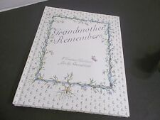 Grandmother Remembers  A Written Heirloom for My Grandchild  Judith Levy NEW