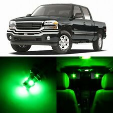 16 x Ultra GREEN Interior LED Lights Package For 1999 - 2006 GMC Sierra +TOOL
