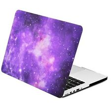 Purple Galaxy Graphic Matte Case MacBook Pro 13 Retina Model A1425  &  A1502