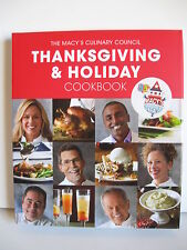 Macy's Culinary Council Thanksgiving & Holiday Cookbook Hardcover Pub. 2011