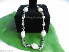 "Freshwater Chain Cultured 7 - 7.49"" Fine Pearl Bracelets"