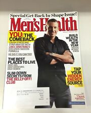 Men's Health Magazine Lance Armstrong January/February 2009