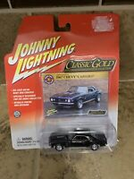 JOHNNY LIGHTNING 1967 chevy camaro black coupe 1/64 CLASSIC GOLD john fesler's