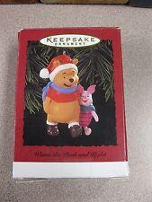 Hallmark Keepsake Ornament 1996 Winnie the Pooh & Piglet #QX5454 FREE SHIPPING!