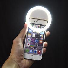 Selfie Licht LED Strahler Ringlicht Beleuchtung Foto Kamera Handy Tablet
