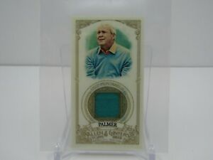ARNOLD PALMER 2012 TOPPS ALLEN & GINTER MINI CARD USED PATCH