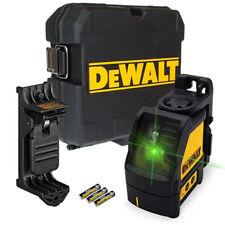 Dewalt DW088CG 2 Way auto-nivelación línea cruzada laser verde cambio con nuevos