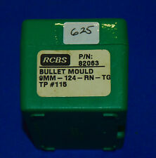 RCBS 2-Cavity Mold-(9mm-124-RNTG)-new old stock-In Box