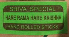 SHIVA SPECIAL HARE RAMA HARE KRISHNA Natural Incense Sticks (BUY 5 Get 1 FREE)