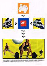 PUBLICITE ADVERTISING 064 1991  NIKE AIR  baskets  SERGEY BUBKA