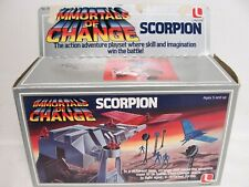 Vintage Immortals of Change Scorpion w/box Lakeside 1985 Incomplete