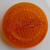 MADONNA UNUSUAL TEXTURED PLASTIC  PIN BADGE FROM THE 1980's RETRO POP VINTAGE