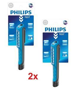 2x Philips LED PENLIGHT LPL18B1 Stiftleuchte inkl. Batterien Stiftlampe