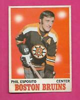 1970-71 OPC # 11 BRUINS PHIL ESPOSITO GOOD CARD (INV# D0816)