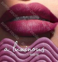 New AVON True Colour Luminous Velvet Lipstick SAMPLES Soft-Metallic MATTE Finish