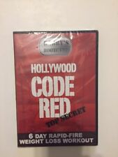Barry's Bootcamp : Hollywood Code Red Top Secret 6 Day Rapid (DVD, 2008) NEW