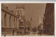 Dorset; Dorchester, High West St RP PPC 1916 PMK, By Judges, Animated Scene
