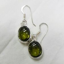 Powerful Nok Phra Gow Green Naga Eye Crystal earring Amulet Rare