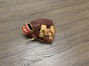 "Rawlings Pro Preferred Wingtip 11.75"" I Web Baseball Glove Brown Camel"