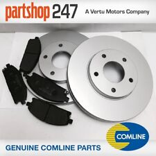NISSAN X TRAIL T30 FRONT VENTED COATED BRAKE DISCS & PADS 2001-2006