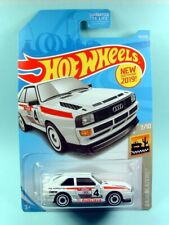 2019 HOT WHEELS / '84 Audi Sport Quattro (White) - Mint on card.