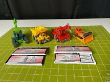 Transformers Robots in Disguise 2000 Lot! LANDFILL WEDGE, GRIMLOCK, HIGHTOWER+