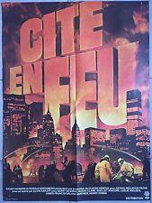 Affiche CITE EN FEU City on fire ALVIN RAKOFF Barry Newman SUSAN CLARK 60x80cm *