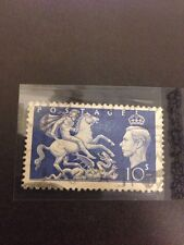 Great Britain #288 Used, Small Crease, Large margins (Scv=9.75)