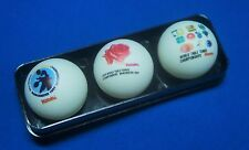 1997 Nittaku 44th World Table Tennis Championships Commemoration Ball with Case