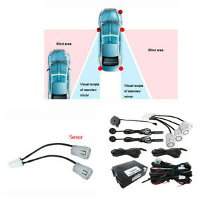 Upgrade Car Blind Spot Monitoring Ultrasonic Detection System Help Lane Changing