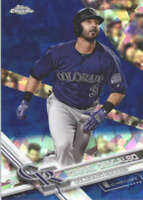 DANIEL DESCALSO 2017 TOPPS CHROME SAPPHIRE EDITION #17 ONLY 250 MADE