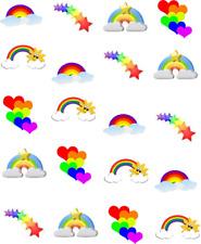 Rainbow Fun Waterslide Nail Decals/Nail art