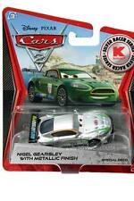 2012 Disney Cars 2 Metallic Finish Silver Racer Series Nigel Gearsley KMART