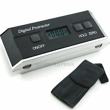 Digital LCD Protractor Angle Finder Level Inclinometer Magnetic V-Groove 0~360°