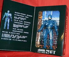 VIDEO GAME DECO ROBOCOP w/ spring loaded holster AUTO-9 GUN 7 INCH FIGURE NECA