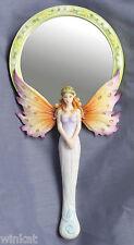 "Jody Bergsma ""Hummers Night Dream"" Fairy Hand Mirror Figurine Retired 2007"