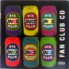 INXS cd Six Pack OOP Fan club issue 2008 w/ J.D. Fortune 6tk Digipk 800314904120