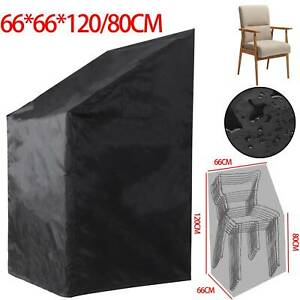 Stacking Chair Cover Waterproof Quality UV Outdoor Garden Patio Furniture Chairs