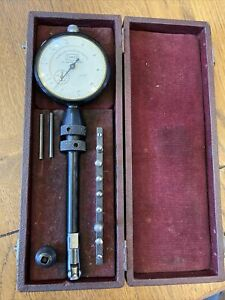 Scherr Tumico Dial Bore Gage .0001 w Case Tubular Micrometer Co