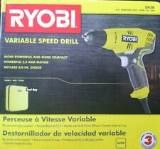 Ryobi D43K 5.5 Corded 3/8 Inch Variable Speed Compact Drill/Driver  L081