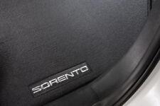 Genuine 2016 - 2018 Kia Sorento BLACK CARPET FLOOR MATS carpeted floor mat SET