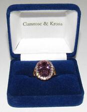Camrose & Kross JBK Pink Kunzite Ring Jacqueline Kennedy Size 6
