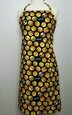 New listing Emoji Kitchen Apron Mens or Womens Unisex Yellow Smiley Face No Affiliation