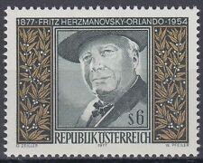Österreich Austria 1977 ** Mi.1547 Herzmanovsky-Orlando Schriftsteller Writer