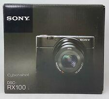 Sony Cyber-shot DSC-RX100 Digitalkamera, Schwarz - in OVP, Händler